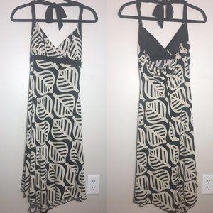Trixxi Halter Style Leaf Dress Size M